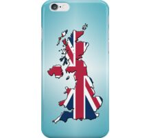 Smartphone Case - Cool Britannia - Light Cyan Diamond Background iPhone Case/Skin