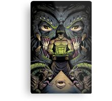 The Courier Metal Print