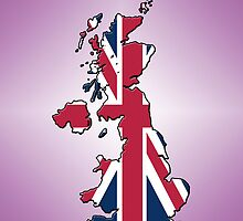 Smartphone Case - Cool Britannia - Plum Diamond Background by Mark Podger