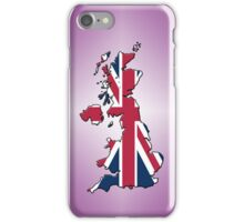 Smartphone Case - Cool Britannia - Plum Diamond Background iPhone Case/Skin