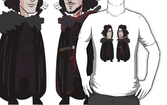 Jon Snow Before and After by JenSnow