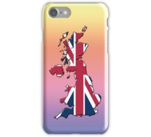 Smartphone Case - Cool Britannia - Medium Spectrum Background iPhone Case/Skin