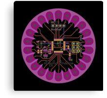 LilyPad Arduino 02 Reference Design  Canvas Print