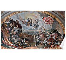 Santa Maria di Porto Salvo --- St Domnic Church Valletta Malta Poster