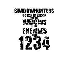 Shadowhunters: Better In Black by Neelam Ali