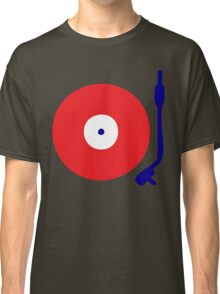 Red White Blue Turntable Classic T-Shirt