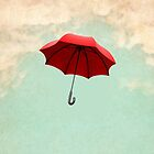red umbrella by Vin  Zzep
