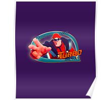 """Wreck-it-Ralph - """"Going Turbo"""" Poster"""