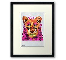 Be brave to love myself Framed Print