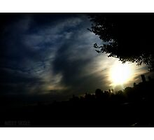 Dreary Sunset Photographic Print