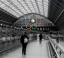 St Pancras Olympic by Matt Malloy