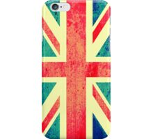 Retro UK Flag iPhone Case/Skin