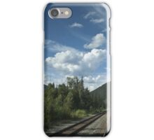 View From a Train iPhone Case/Skin