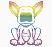 Neon Dot EBT Puppy Design by Sookiesooker