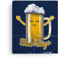 Beer Hugs Canvas Print