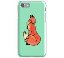 Big Fox Sitting iPhone Case/Skin