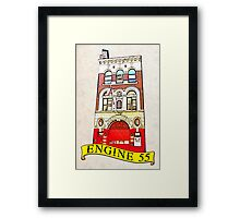 Engine 55 Soho NYC Framed Print