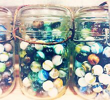 Jar of Marbles by Jeri Stunkard