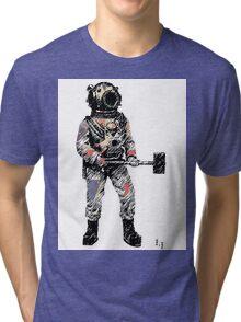 The diver Tri-blend T-Shirt