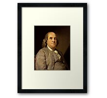 Ben Frank Framed Print