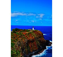 Kilauea Point Lighthouse Photographic Print