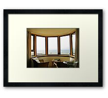 Looking Out To Sea Framed Print