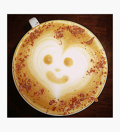 A Cappuccino For Lorraine Photographic Print