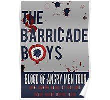 The Barricade Boys World Tour Poster