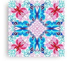 EIGHT FANTASY BUTTERFLIES Canvas Print