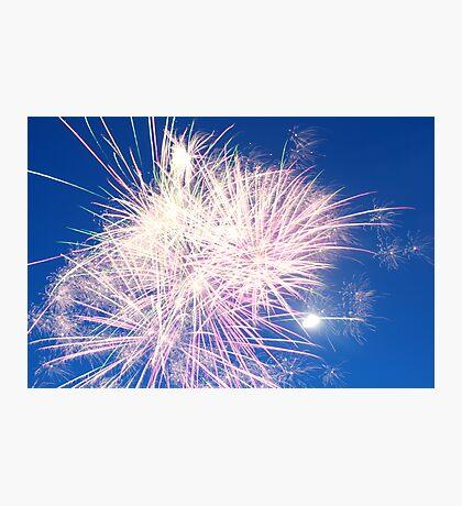 Firework Photographic Print