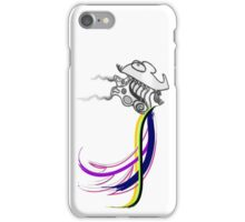 Flaps, in color! iPhone Case/Skin