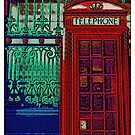 Pop art phone box by Karentreefern