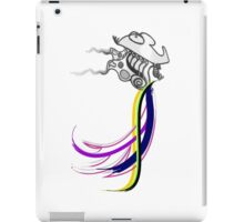 Flaps, in color! iPad Case/Skin
