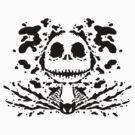 Jack Skell-ink-ton (black) by MightyRain