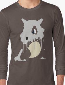 Cubone Paint Splatter  Long Sleeve T-Shirt