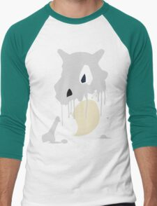 Cubone Paint Splatter  Men's Baseball ¾ T-Shirt