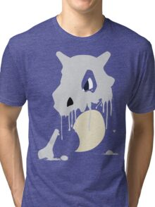 Cubone Paint Splatter  Tri-blend T-Shirt