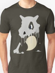 Cubone Paint Splatter  T-Shirt