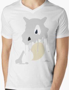 Cubone Paint Splatter  Mens V-Neck T-Shirt