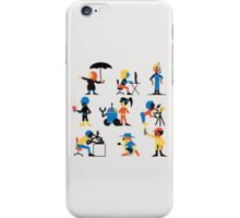 9 Scientists iPhone Case/Skin