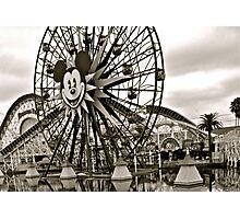 Mickey's Ferris Wheel Photographic Print