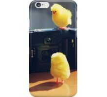 Toy Chickens - Camera iPhone Case/Skin