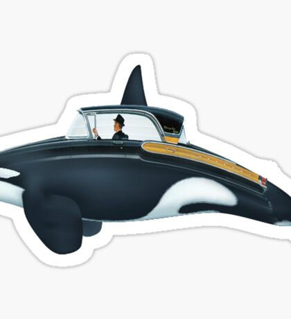 The Turnpike Cruiser of the sea Sticker