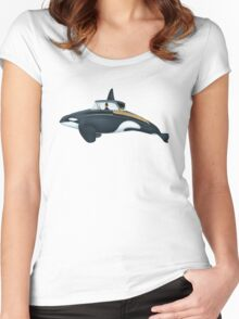 The Turnpike Cruiser of the sea Women's Fitted Scoop T-Shirt