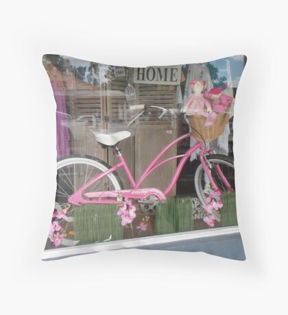 A country window display Throw Pillow