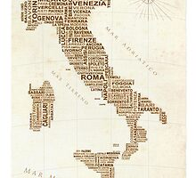 Italia by LOREDANA CRUPI