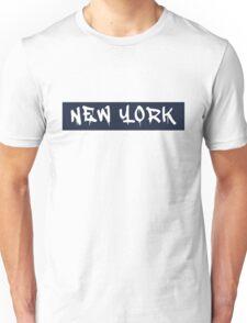New York (Yankees Colors) Unisex T-Shirt