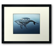 Mercury cruiser of the sea Framed Print