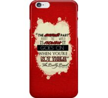 The Bully Book iPhone Case/Skin