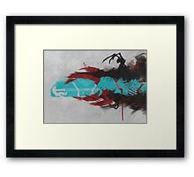 The Dead (Morphed) Framed Print